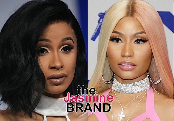 "Cardi B Reveals Why She Chose To Confront Nicki Minaj At Fashion Week – ""I Wasn't Going To Catch Her In The Grocery Store"""