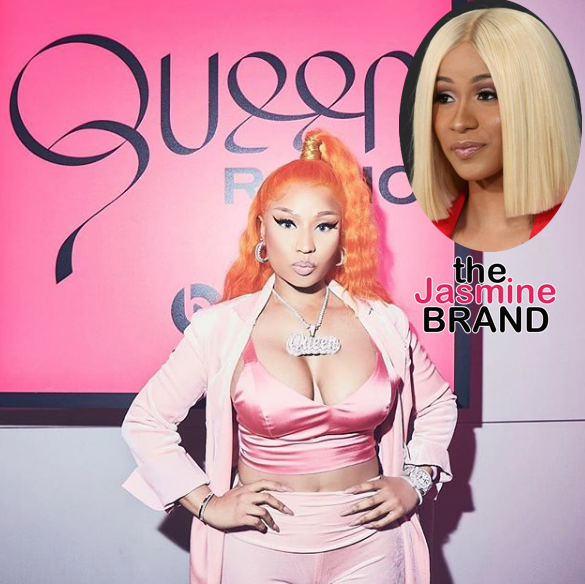 Nicki Minaj Calls Cardi B A Disgusting Pig, Claims She Had Sex w/ DJs To Play Her Music + Denies Talking About Her Daughter [VIDEO]