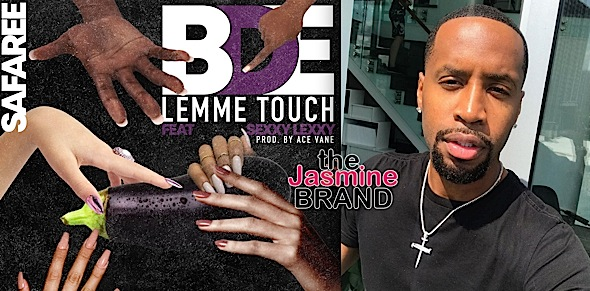"EXCLUSIVE: Love & Hip Hop's Safaree Releases Song About His P*nis  – ""BDE Lemme Touch"" [New Music]"