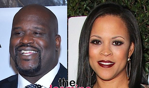 Shaq Caught Flirting w/ Ex Wife Shaunie O'Neal, Hints At Wanting To Get Married Again