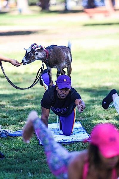 Eric Bellinger Gets Hot & Goaty [Spotted. Stalked. Scene.]