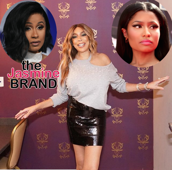 Wendy Williams Is Disgusted By Nicki Minaj & Cardi B