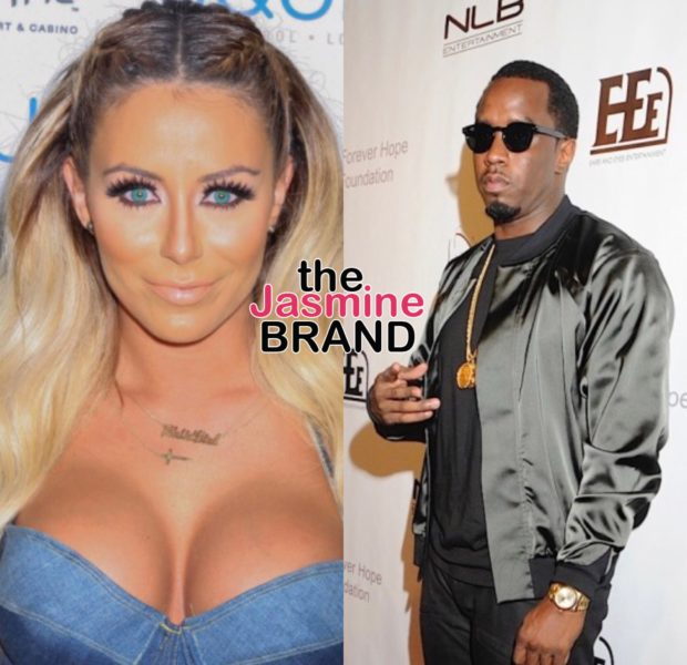 Aubrey O'Day Questions Diddy Trying To Get Trump Out Of Office: You Mismanaged Artists & Stole Money Your Whole Career!