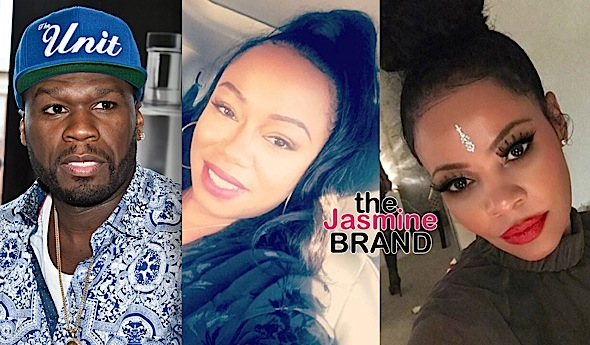 50 Cent Taunts Baby Mama Over Reality Show, Nas' Baby Mama Carmen Bryan Responds