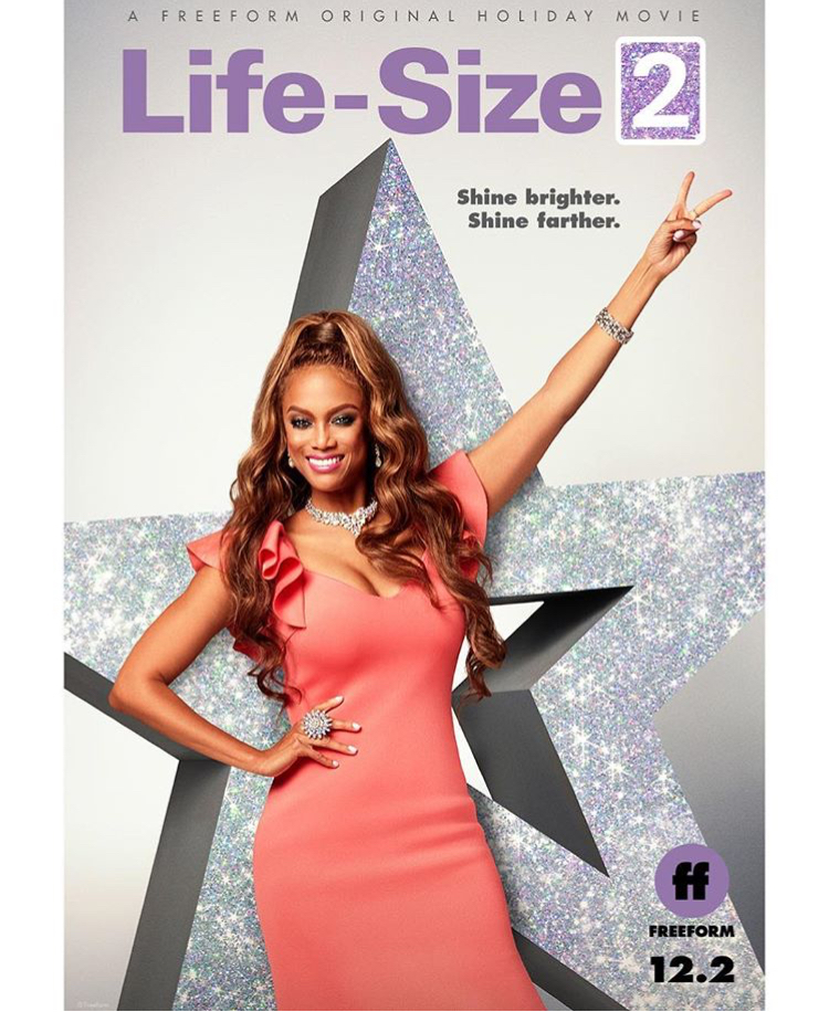 "Tyra Banks Sequel: Tyra Banks Reveals ""Life Size 2"" Poster & Premiere Date"