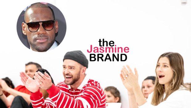 Justin Timberlake & Jessica Biel Surprise Students At LeBron James I Promise School