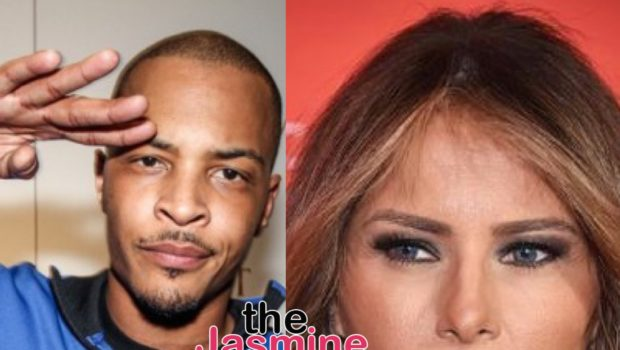 T.I. Portrays Trump's Wife As Naked Stripper In Video