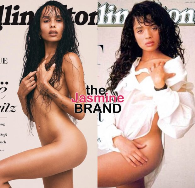 Zoë Kravitz Goes Completely Nude, Channels Mother Lisa Bonet