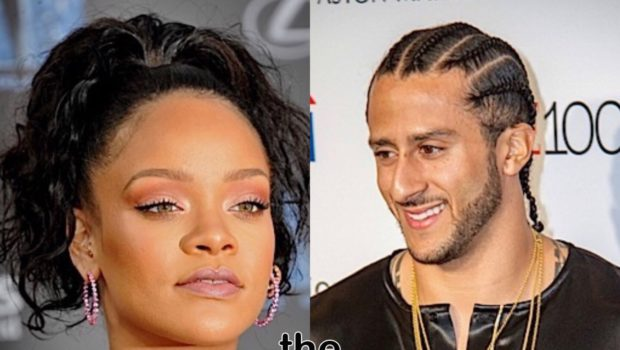 Rihanna Shades Passenger On Plane Trying To Watch Super Bowl, Continues To Support Colin Kaepernick