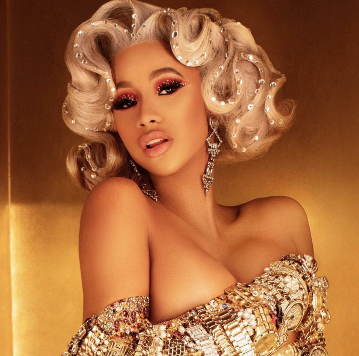 Cardi B Unveils Her Entire Back Tattoo With Bright Pink: Cardi B Shows Off New House She Bought Her Mom [VIDEO