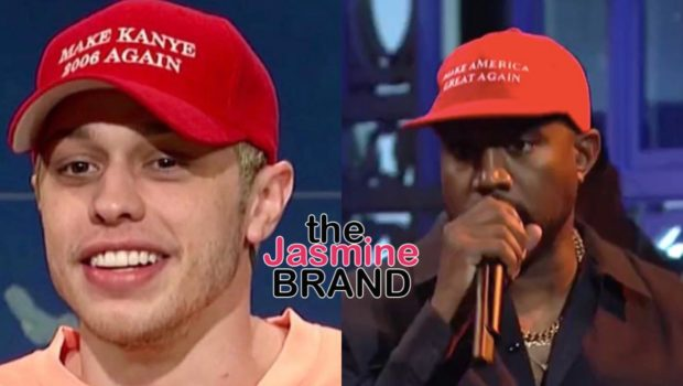 Pete Davidson Sends Shots To Kanye -Being mentally ill is not an excuse to act like a jack*ss!