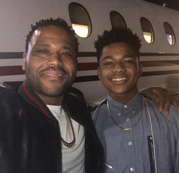 Anthony Anderson Plans To Graduate College w/ His Son In 2022