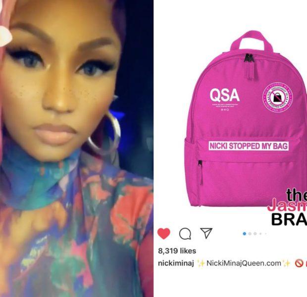 """Nicki Minaj Taunts Female Rappers w/ """"Nicki Stopped My Bag"""" Merch"""