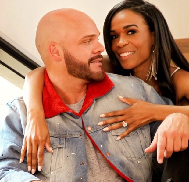 Michelle Williams Supports Ex-Fiance Chad Johnson