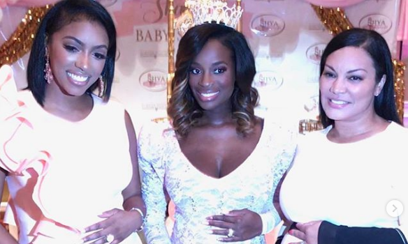 RHOA's Shamea Morton's 'Tutu & Tiara's' Baby Shower: Kandi Burruss, Porsha Williams, Kenya Moore Spotted [Photos]