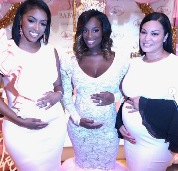 RHOA's Shamea Morton's 'Tutu & Tiara's' Baby Shower: Kandi Burruss, Porsha Williams, Kenya Moore Spotted [Photos]