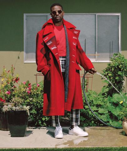 Sterling K. Brown Rocks Gucci, Maison Margiela & Versace [Celebrity Fashion]