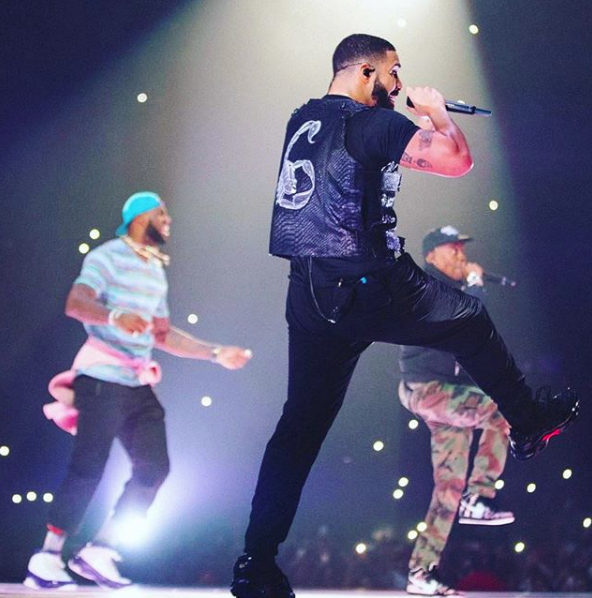 Drake Brings LeBron James On Stage + Beyonce & Jay-Z Spotted Backstage [VIDEO]