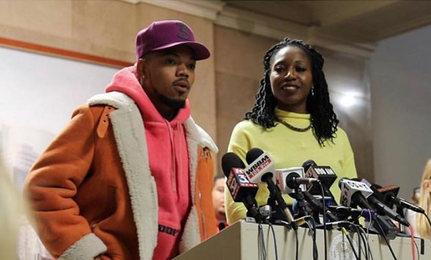 Chance the Rapper Isn't Running for Mayor, Endorses Amara Eniya