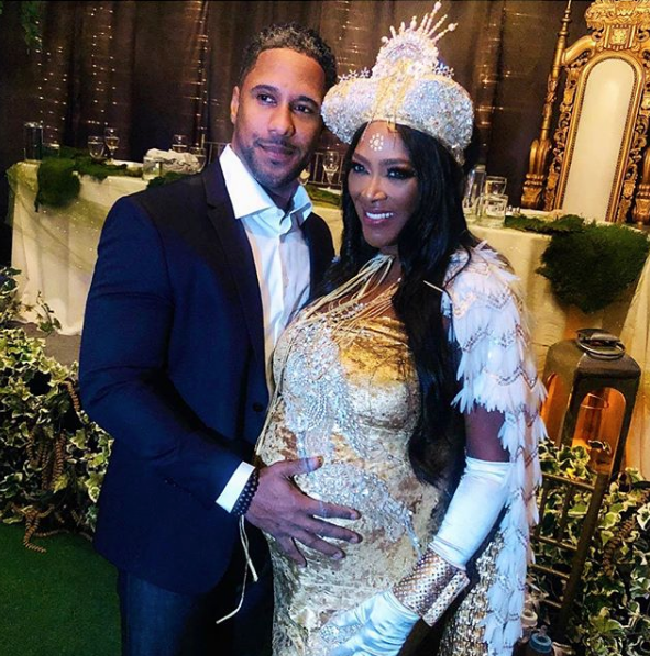 EXCLUSIVE: Kenya Moore – Source Denies Reports Reality Star Hid & Cried At Baby Shower