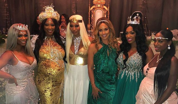 Kenya Moore's Fairy Tale Theme Baby Shower: Kandi Burruss, Cynthia Bailey, Claudia Jordan, Gizelle Bryant Spotted
