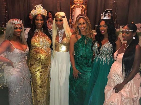 Kenya Moore's Fairy Tale Theme Baby Shower: Kandi Burruss, Cynthia Bailey, Claudia Jordan, Gizelle Bryant Spotted