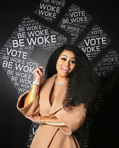 Blac Chyna Asks People To Vote, Amidst Mom Tokyo Toni Claiming She's Not Allowed To See Dream Kardashian