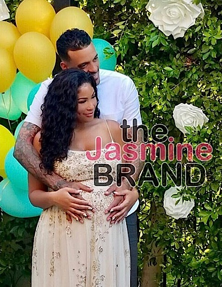 EXCLUSIVE: Inside Matt Barnes & Model Anansa Sims Baby Shower + Gender Revealed!
