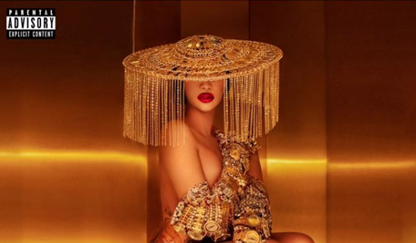Cardi B Gets Completely Naked For 'Money' Single