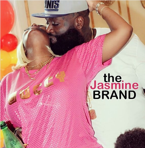 Rick Ross' Pregnant Baby Mama Shares Sweet Photo Of Them Coupled Up