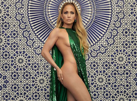 J.Lo Is Almost Nude In Her New Shoot! [Photos]