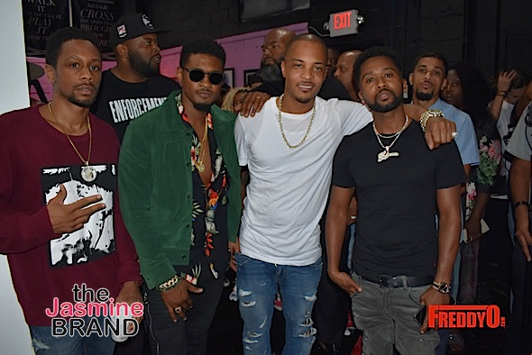 T I  Celebrates Trap Music Museum: Usher, Monica, Tiny