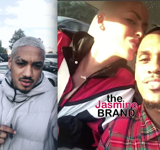 Amber Rose Breaks Up w/ NBA Star Monte Morris, Dating Tyga's BFF Alexander Edwards