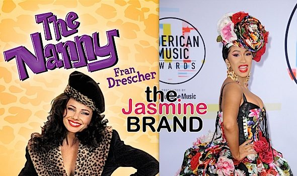 Cardi B's Team Is Talking To Fran Drescher About 'The Nanny' Reboot w/ Rapper Playing Her Daughter