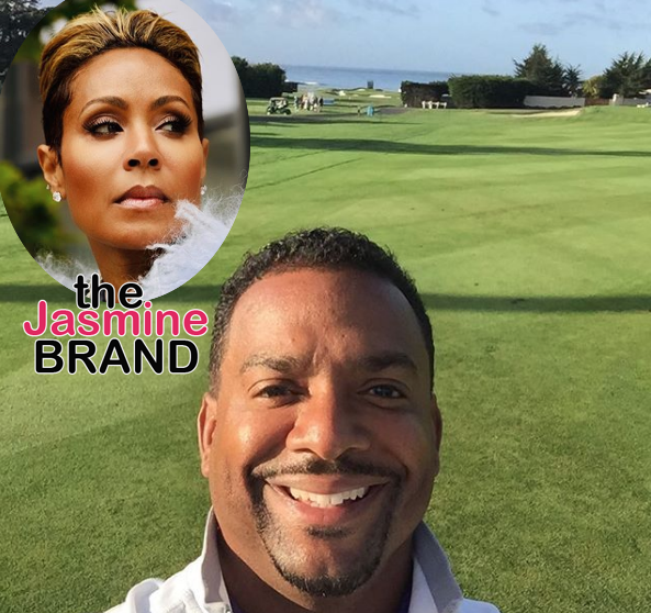 Alfonso Ribeiro Denies Dating Jada Pinkett-Smith: Your Memory Is Off!