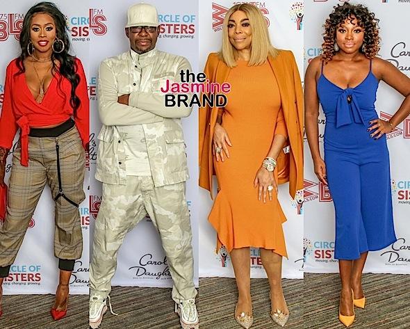 "Kenya Moore, EnVogue, MC Lyte, Wendy Williams, Bobby Brown Attend ""Circle of Sisters"""