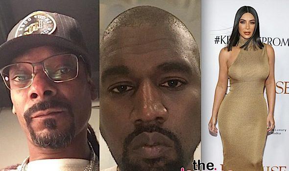 Snoop Accuses Kim Kardashian Of Having Sex w/ Drake – That's Why Kanye's Mad!