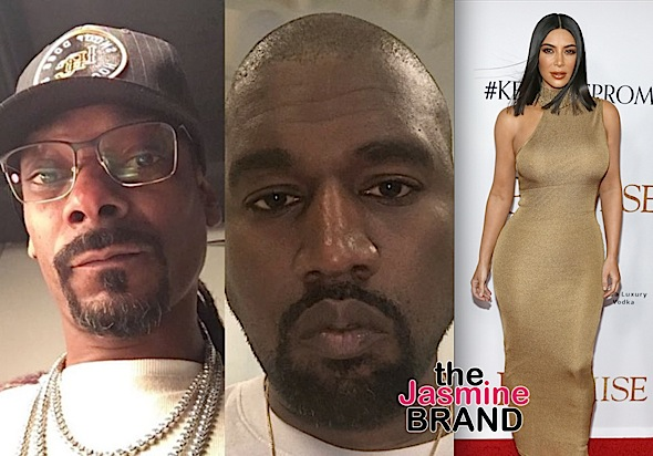 Snoop Accuses Kim Kardashian Of Having Sex w/ Drake – That's Why Kanye's Mad!