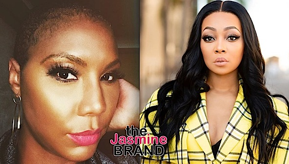 Tamar Braxton Claims Singer Monica Doesn't Like Her