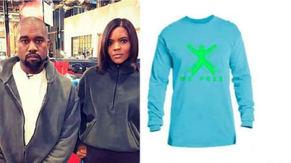 Kanye West Designer Shirt | Kanye Designs Shirts For Candace Owens Blexit Campaign