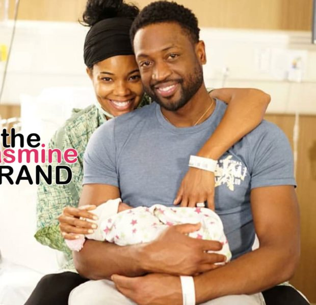 Gabrielle Union & Dwayne Welcome First Child Together Via Surrogate