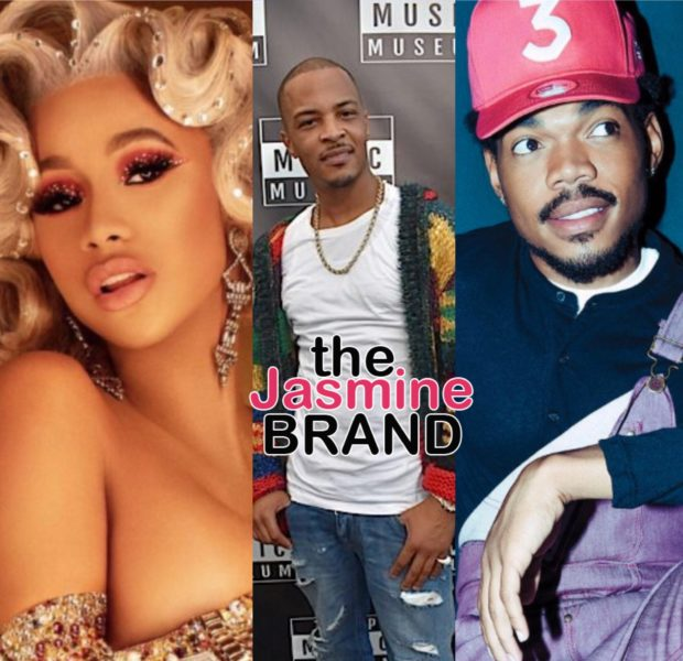Cardi B, Chance the Rapper & T.I. Will Judge Netflix Hip Hop Competition Series
