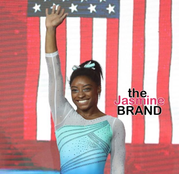 Simone Biles Makes History As 1st Woman to Complete Triple-Double, Cries About Memories of Abuse At Hands Of USA Gymnastics Doctor