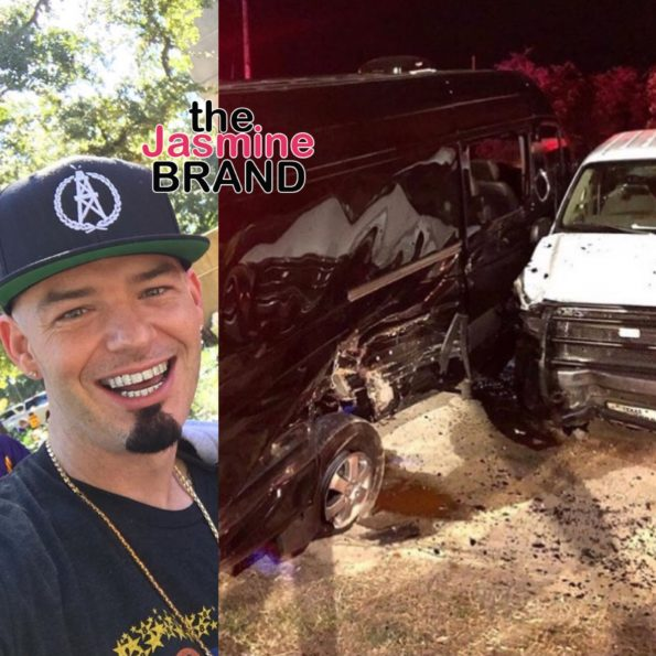 Houston Rapper Paul Wall Gets Into Car Accident W/ Drunk