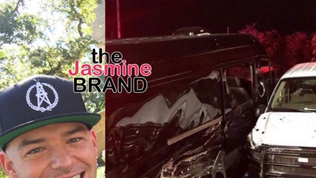 Houston Rapper Paul Wall Gets Into Car Accident W/ Drunk Driver