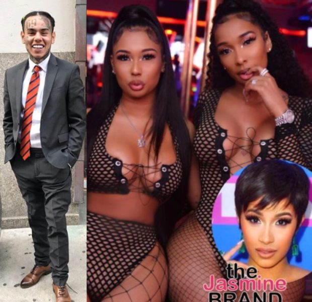 Tekashi 6ix9ine Recruits Bartending Sisters Who Are Suing Cardi B For New Video