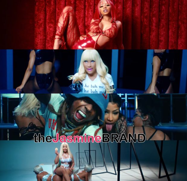 "Nicki Minaj Gets Milky With Lil' Wayne For ""Good Form"" Video"