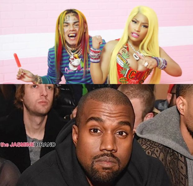 Tekashi 6ix9ine Video Shoot w Kanye & Nicki Minaj Sprayed With Bullets