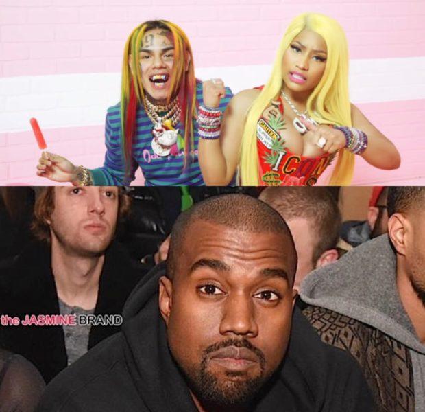 Tekashi 6ix9ine Video Shoot w Kanye & Nicki Minaj Sprayed With Bullets