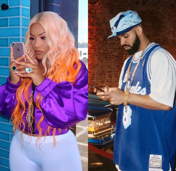 Drake & Stefflon Don Spotted Having Drinks [Photos]